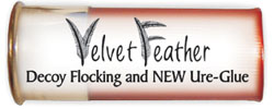 Flock: Velvet featehr Flock adn Ure-Glue